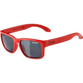 Alpina Mitzo Kids Brille Kinder red